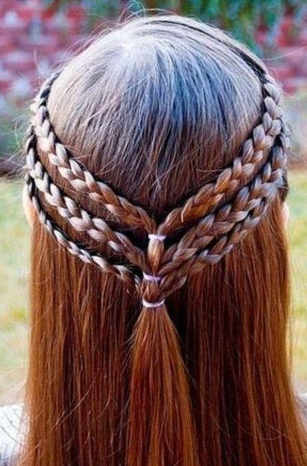 Frisuren Zur Einschulung  Erstaunliche 10 geflochtene Frisuren für Mädchen 2016 2017