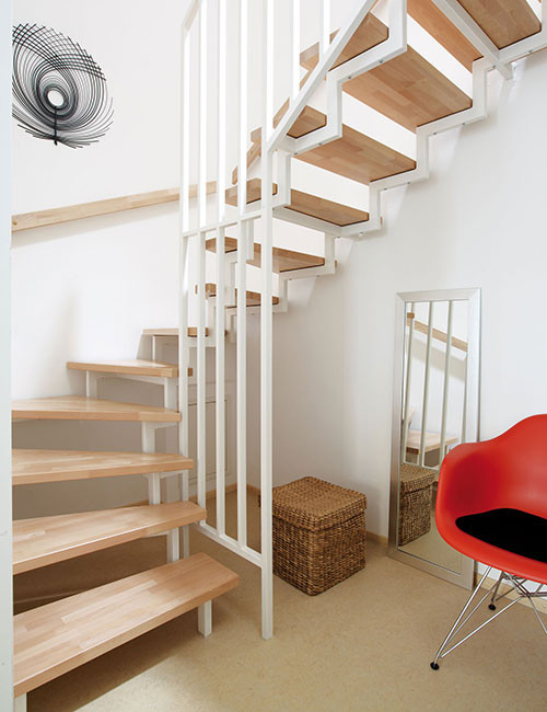 Fuchs Treppen  Im Zeichen der Zeit – Stahl‐Holz‐Treppen für