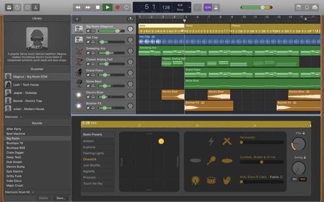 Garage Band  GarageBand for Mac update adds Touch Bar support more