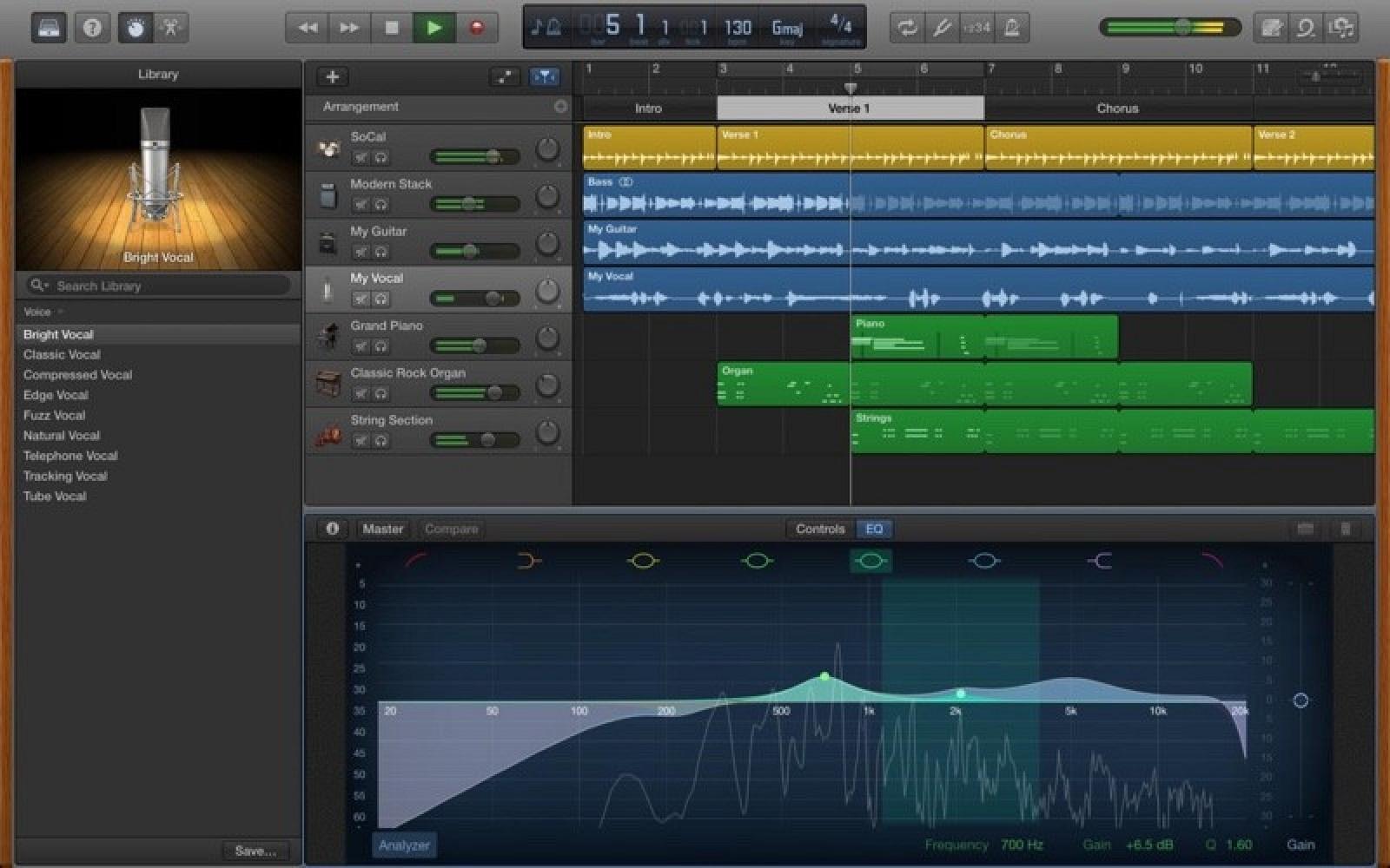 Garage Band  GarageBand for Mac Updated With Music Memos Support 2 600