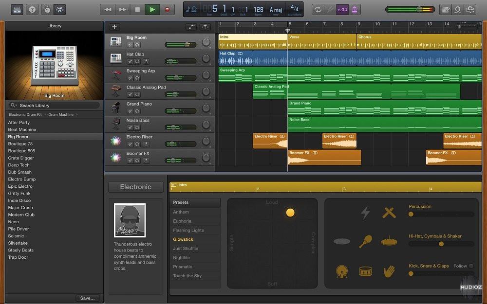 Garage Band  Download Apple GarageBand v10 1 1 MacOSX AudioZ