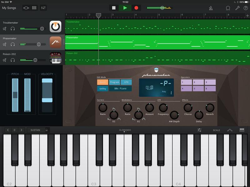 Garage Band  GarageBand for iPad & iPhone review Apple GarageBand for