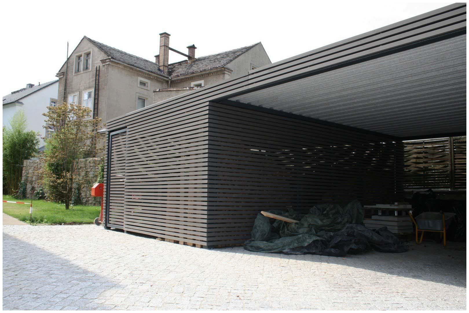 Garage Blech  Garage Blech Design Metall Carport Aus Stahl Holz