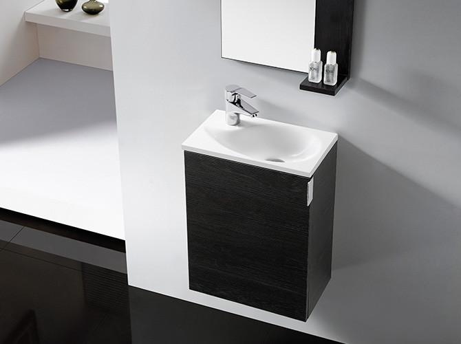 Gäste Wc Waschtisch  Badmöbel Gäste WC OPORTO Waschbecken Waschtisch