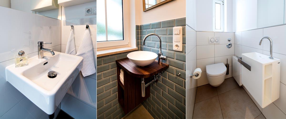 Gäste Wc Waschtisch  Gäste WC Waschtisch ☛ Bildergalerie von HEIMWOHL