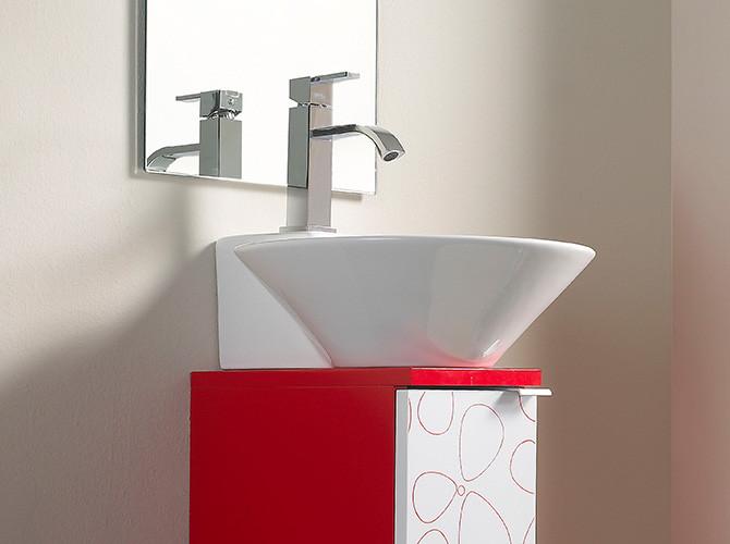 Gäste Wc Waschtisch  Badmöbel Gäste WC Waschbecken Waschtisch Handwaschbecken