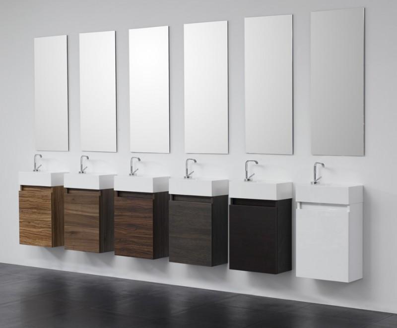 Gäste Wc Waschtisch  Gäste WC Badmöbel Waschbecken mit Unterschrank Waschtisch