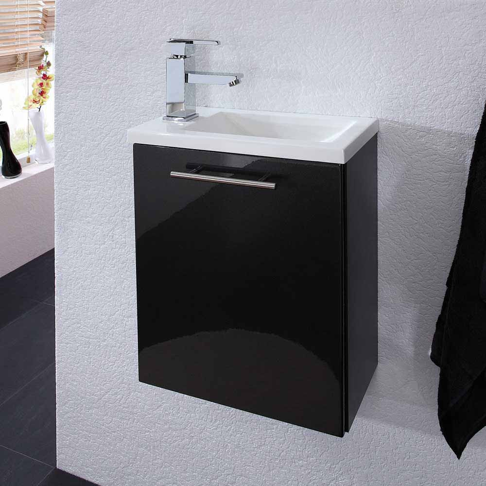 Gäste Wc Waschtisch  Gäste WC Waschtisch Valbern in Anthrazit