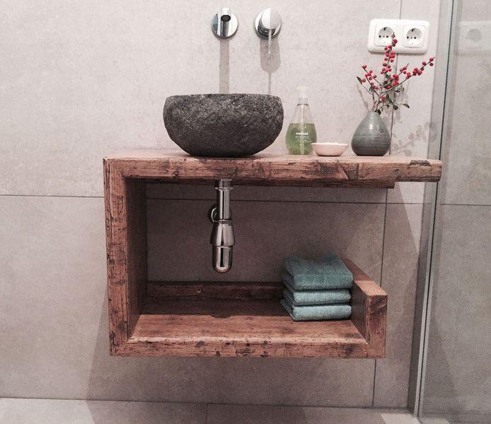 Gäste Wc Waschtisch  Badezimmermöbel Badschränke Waschtisch Gäste WC