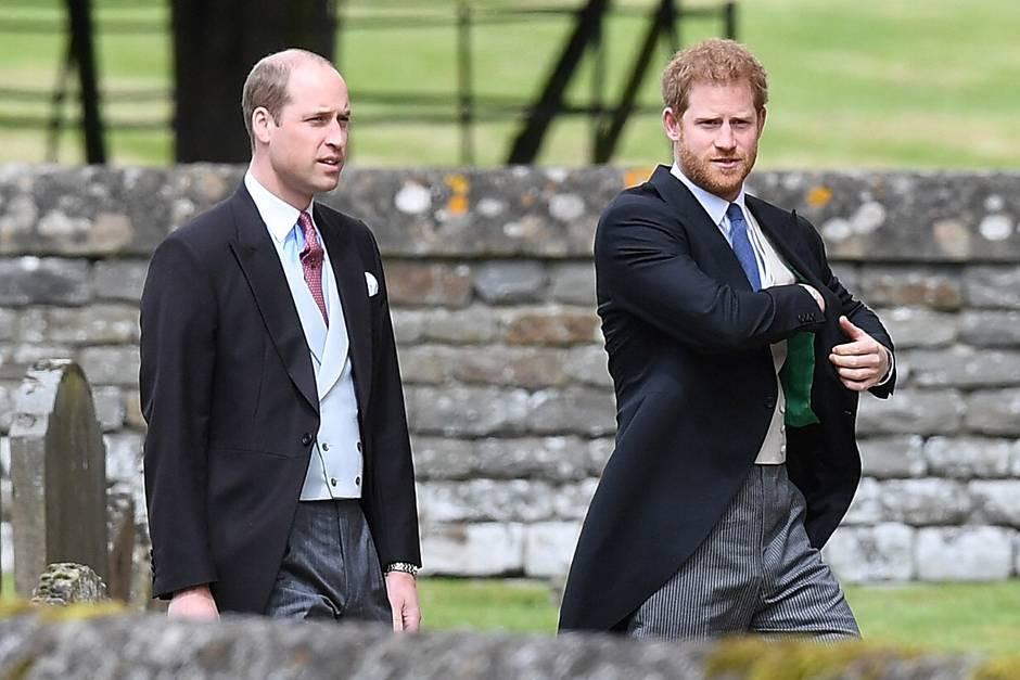 Gästeliste Hochzeit Prinz Harry  Prinz Harry Ohne Meghan Markle bei Pippas Hochzeit