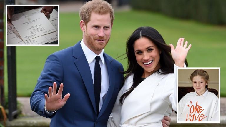 Gästeliste Hochzeit Prinz Harry  Prinz Harry und Meghan Markle feiern große Hochzeit des