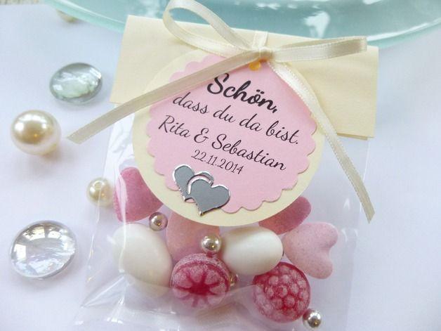 Gastgeschenke Für Hochzeit  Toller Blickfang auf eurer Festtafel Wunderschönes