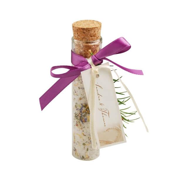 Gastgeschenke Für Hochzeit  dekoratives Glasröhrchen für Gastgeschenke weddix