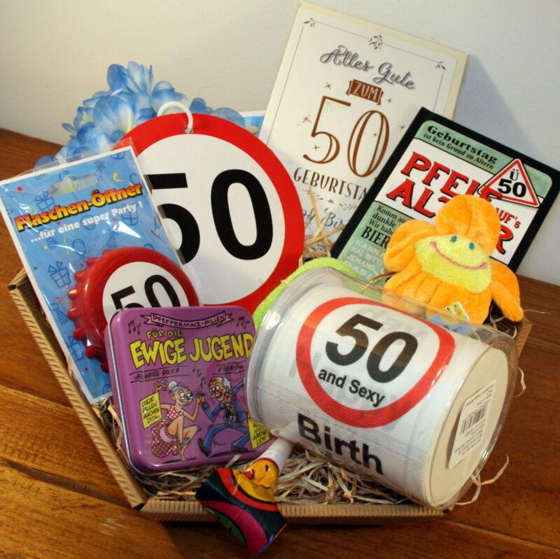 Geburtstag Geschenke Frau  50 Geburtstag Geschenk Mann Geschenkidee