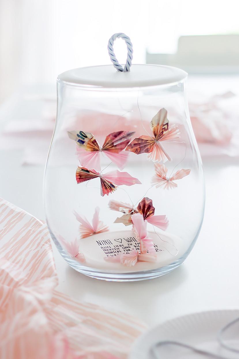 Geld Geschenk Hochzeit  Kreative Verpackungsideen für ein Geldgeschenk und Schmuck