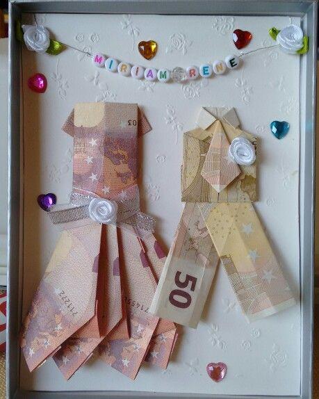 Geld Geschenk Hochzeit  46 best Geldgeschenke basteln images on Pinterest