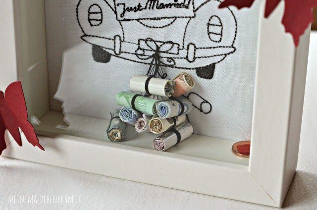 Geldgeschenk Hochzeit  Mädchenkram Geldgeschenk zur Hochzeit D I Y