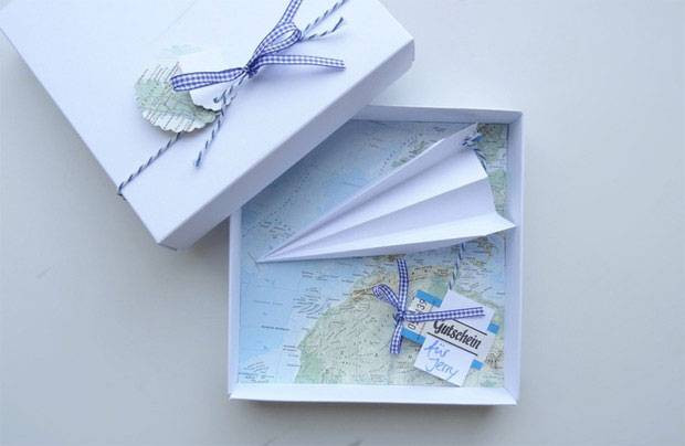 Geldgeschenk Hochzeit Reise  Hochzeit Geldgeschenke kreativ verpacken mit sen