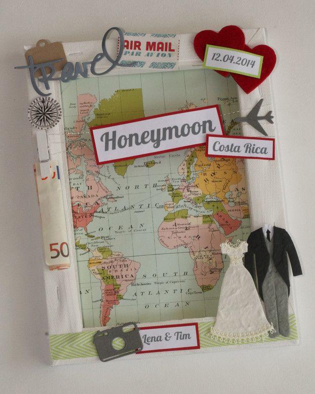 Geldgeschenk Hochzeit Reise  Die besten 25 Geldgeschenk reise Ideen auf Pinterest