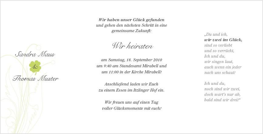 Geldsprüche Hochzeit  Sprüche Geld Spruch Hochzeit Einladung Enhance Erster