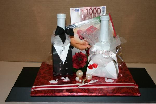 Geschenk Zur Goldenen Hochzeit  Geschenk zur Hochzeit Hochzeit Deko