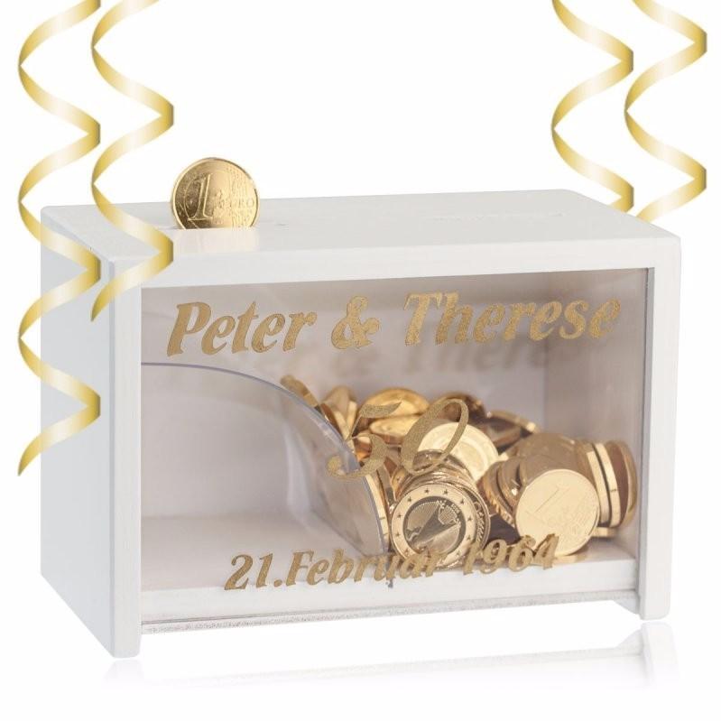 Geschenk Zur Goldenen Hochzeit  Geschenke zur Goldenen Hochzeit