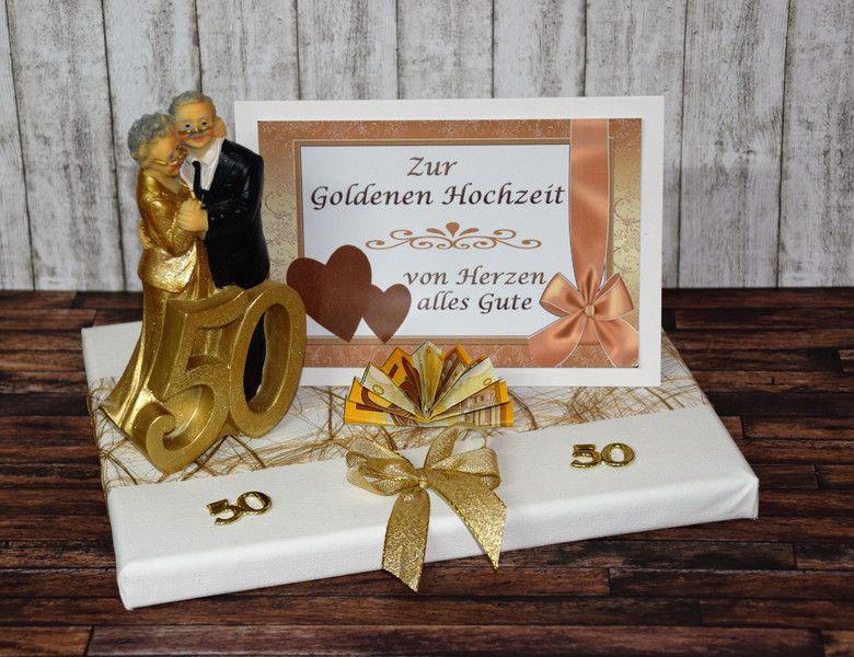 Geschenk Zur Goldenen Hochzeit  Geldgeschenke GELDGESCHENK ZUR GOLDENEN HOCHZEIT 50