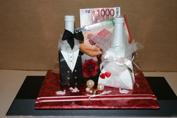 Geschenk Zur Hochzeit  Geschenk zur Hochzeit Hochzeit Deko