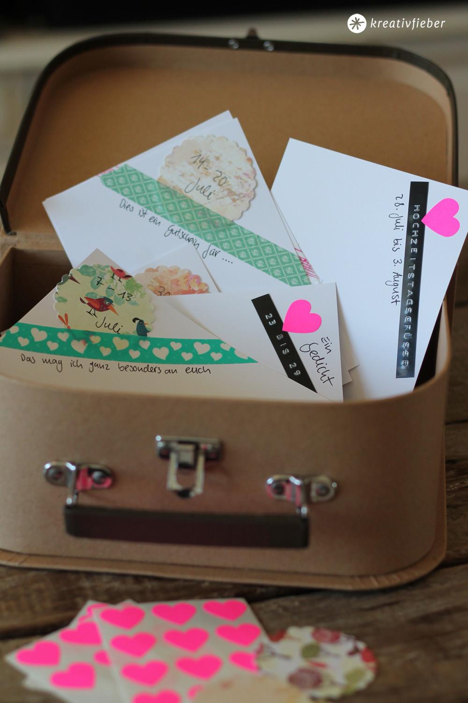 Geschenk Zur Hochzeit  DIY Postkarten Hochzeitsgeschenk originelle Geschenkidee