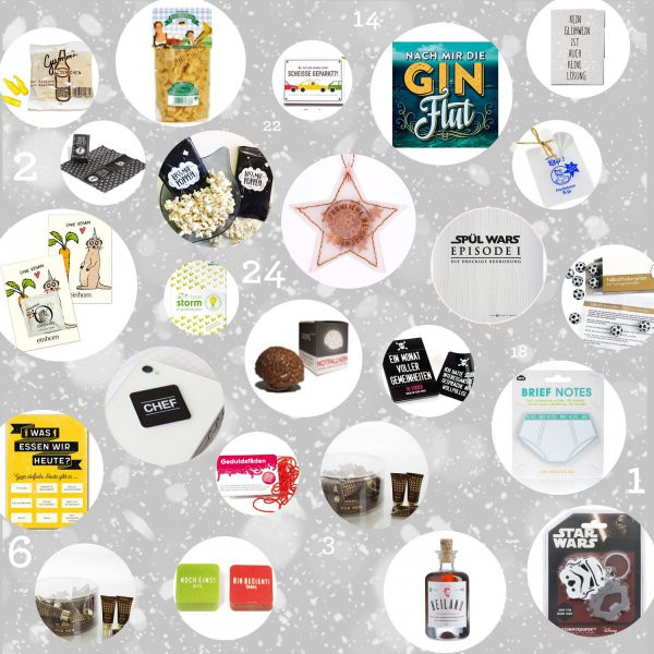 Geschenke Adventskalender  Geschenke Adventskalender Männer 2017 online kaufen