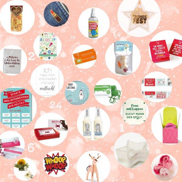 Geschenke Adventskalender  Geschenke Adventskalender Frauen 2017 online kaufen