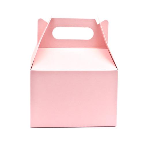 Geschenke Box  Geschenkbox mit Griff rosa