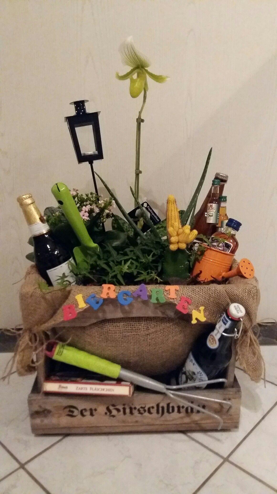 Geschenke Fuer Maenner  Biergarten für Männer zum Geburtstag