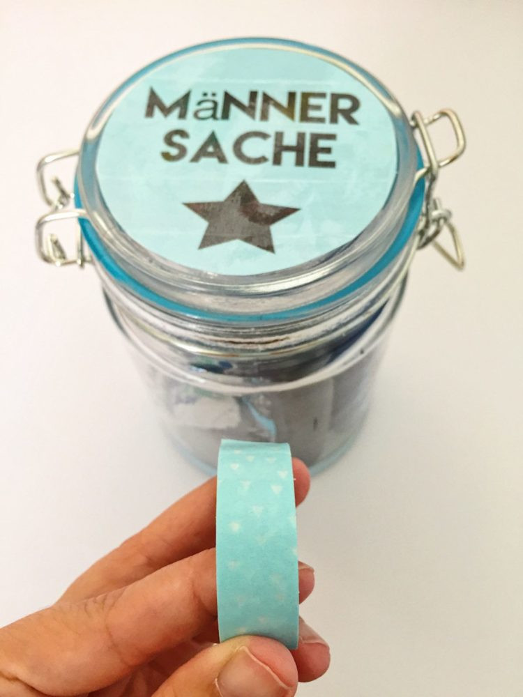Geschenke Fuer Maenner  DIY Geschenke im Glas selber machen