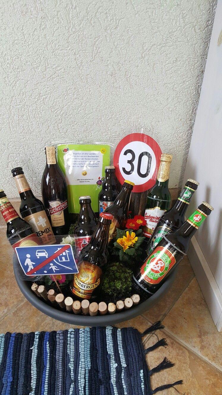 Geschenke Fuer Maenner  Biergarten Geschenk DIY DIY Geschenke