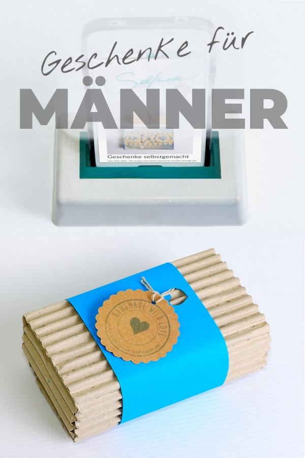 Geschenke Fuer Maenner  Geschenke selbstgemacht Geschenkideen zum selber machen