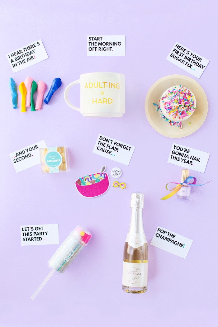 Geschenke Für 18. Geburtstag  1001 Ideen für selbstgemachte Geschenke zum 18 Geburtstag