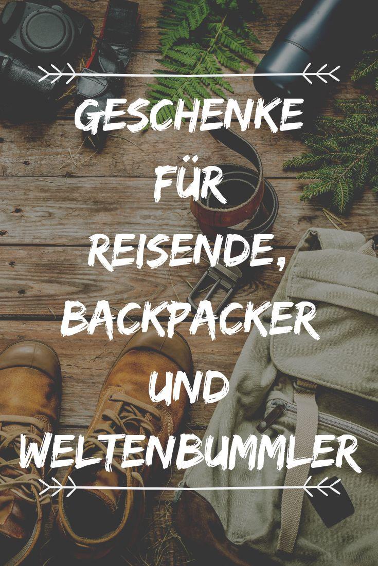 Geschenke Für Backpacker  Meine besten Geschenkideen für Reisende Backpacker und