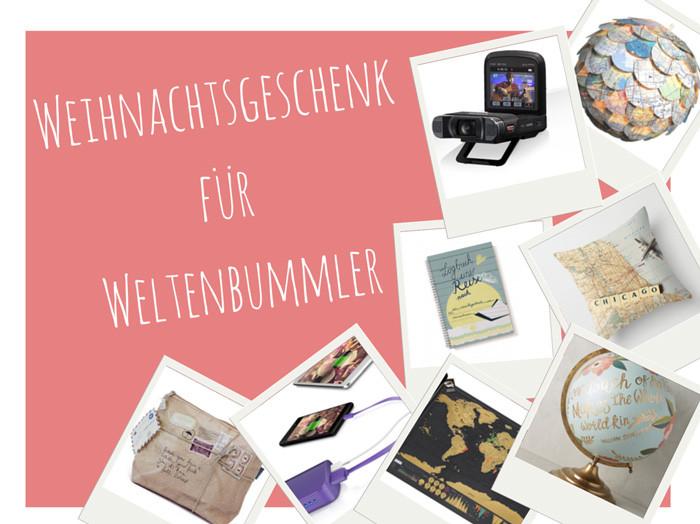 Geschenke Für Backpacker  Weihnachtsgeschenke für Weltenbummler Lilies Diary