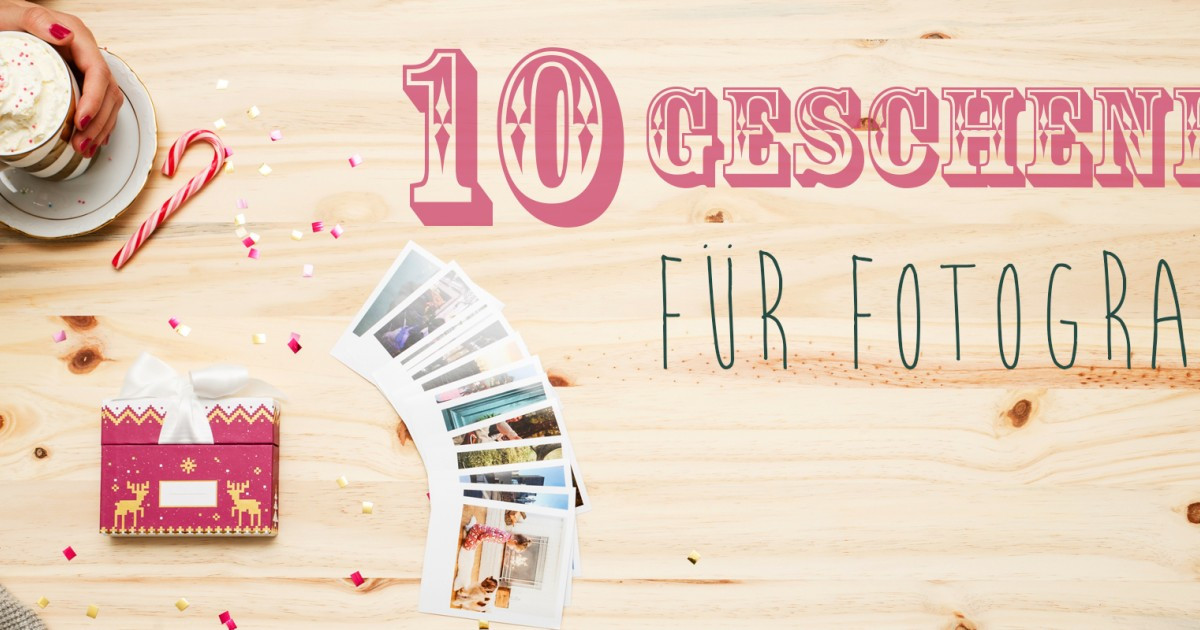 Geschenke Für Fotografen  Geschenke für Fotografen 10 tolle Ideen