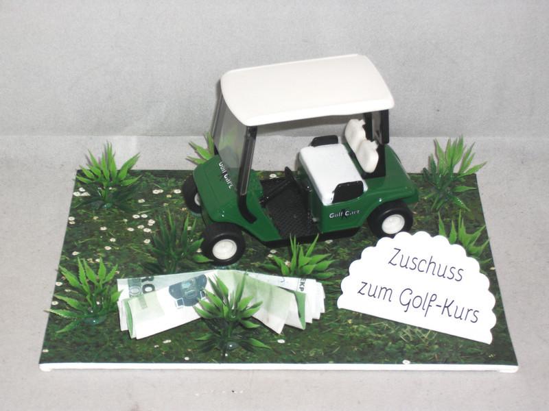 Geschenke Für Golfer  Geschenke für Männer Geldgeschenk für einen Golfkurs