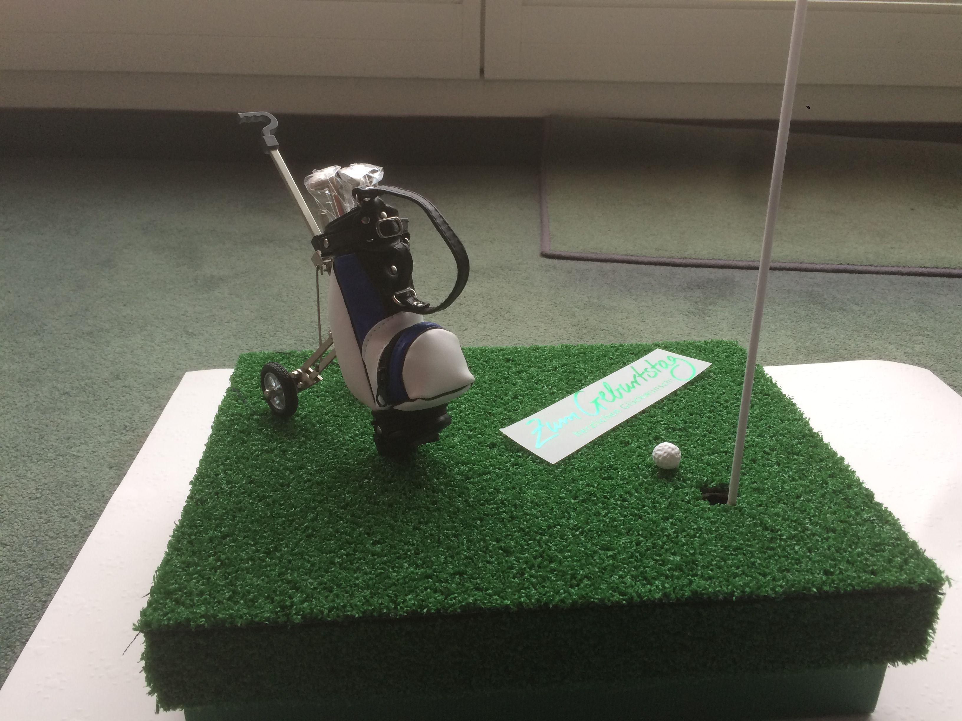 Geschenke Für Golfer  Geschenkverpackung für einen Golfer