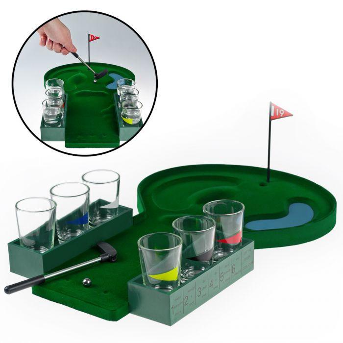 Geschenke Für Golfer  Trinkspiel Golf witziges Party Spiel für Golffans