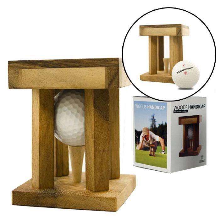 Geschenke Für Golfer  Woods Handicap Golf Rätsel und Holzknobelspiel für kluge