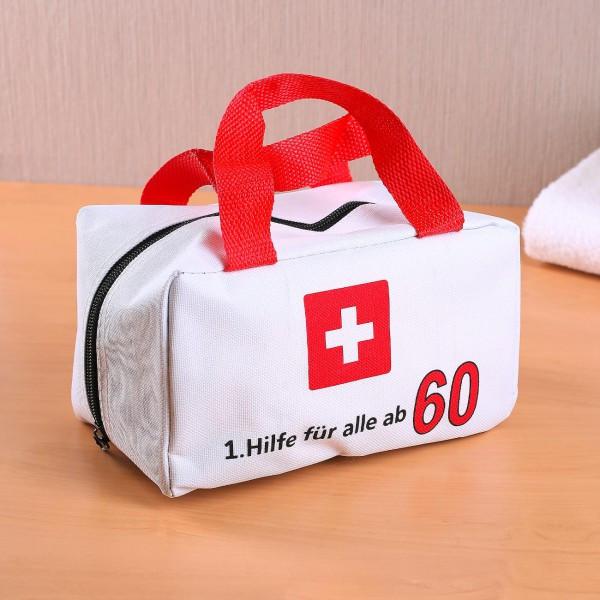 Geschenke Für Männer Ab 60  kleine Tasche für Erste Hilfe zum 60 Geburtstag