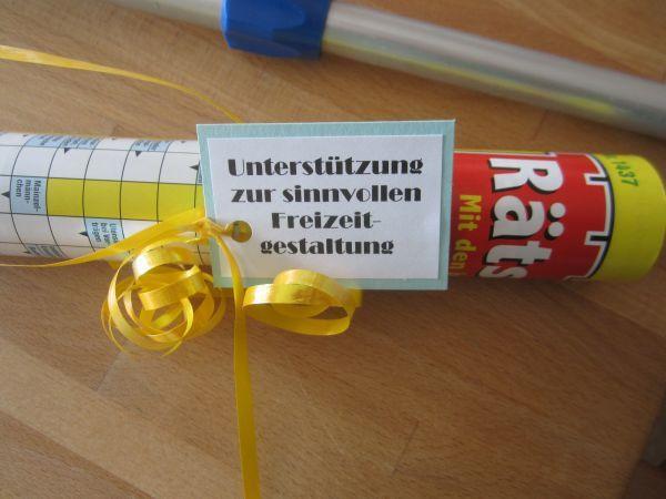Geschenke Für Männer Ab 60  Stempelhex mit Farbenklex Überlebenspaket für den Mann ab