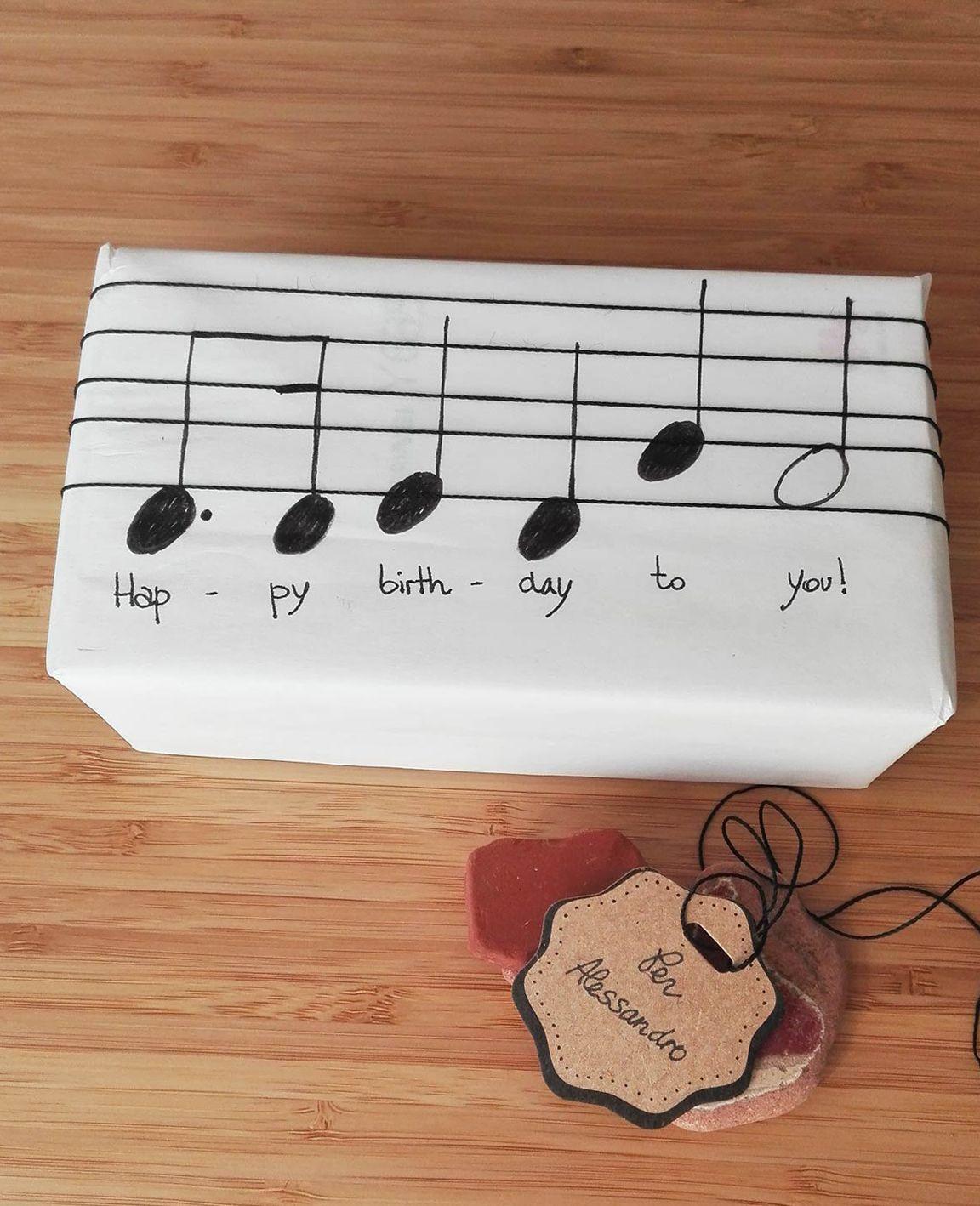 Geschenke Für Musikliebhaber  Ein Musikliebhaber wird se Geschenkverpackungsidee