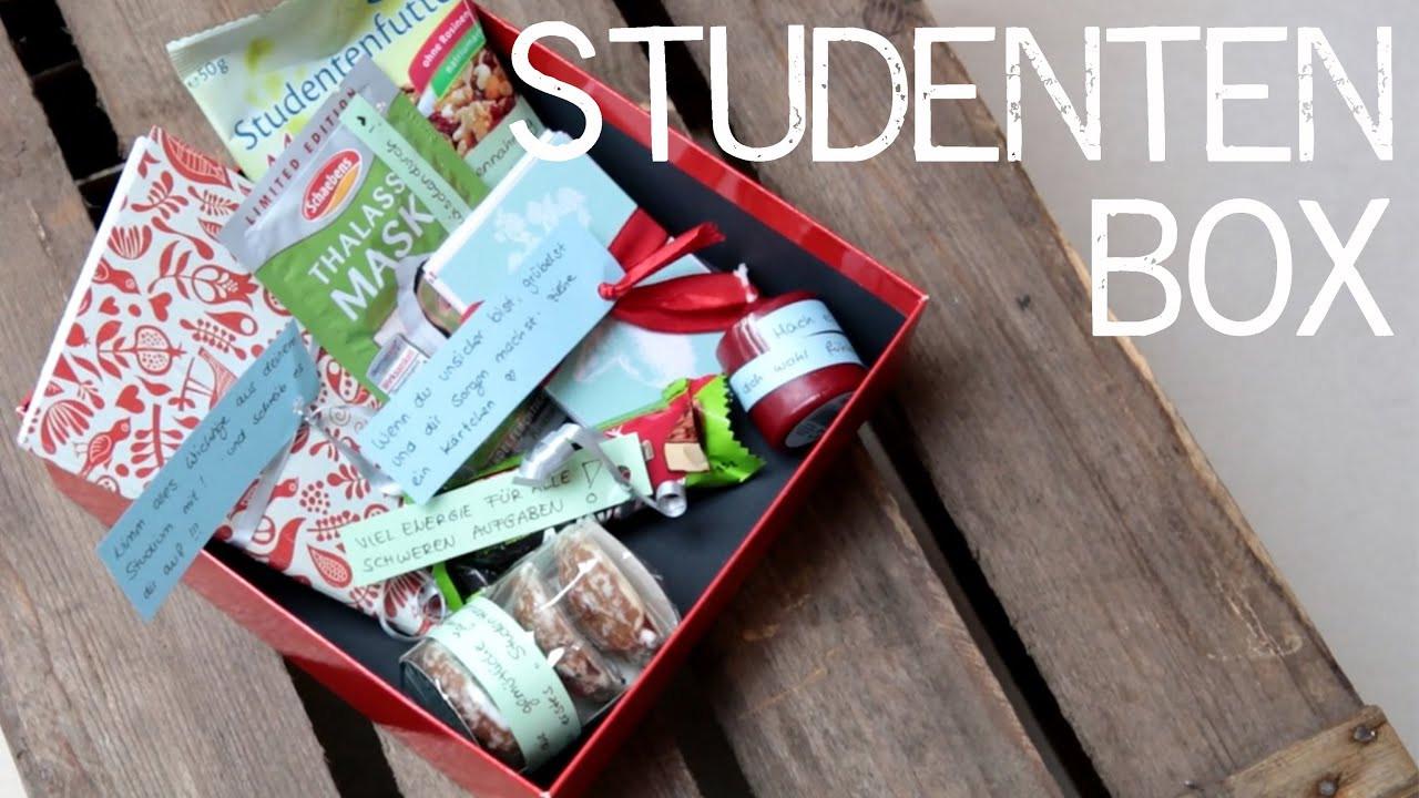 Geschenke Für Studienanfänger  DIY Geschenkbox für z B Stu nanfänger