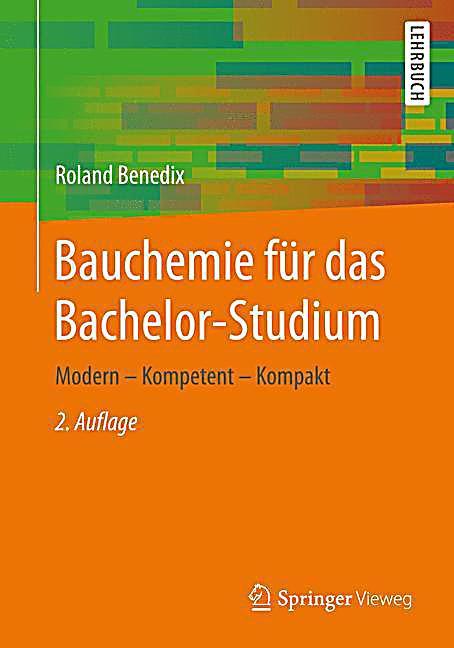 Geschenke Für Studienanfänger  Bauchemie für das Bachelor Studium Buch portofrei bei