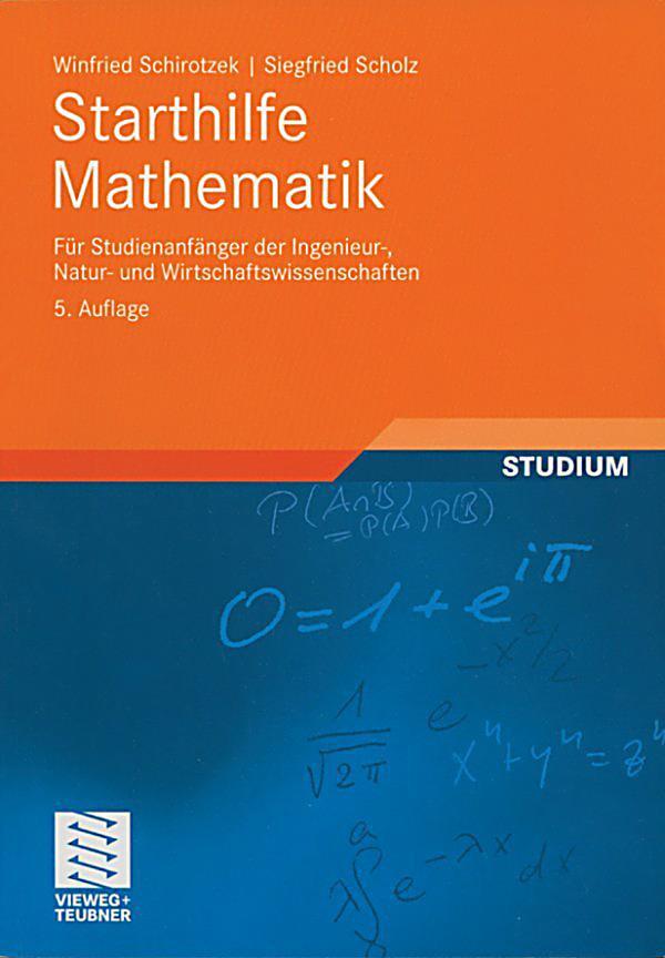 Geschenke Für Studienanfänger  Mathematik für Ingenieure und Naturwissenschaftler